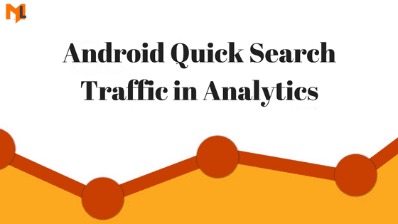 How to fix Android Quick Search Referral in Google Analytics?