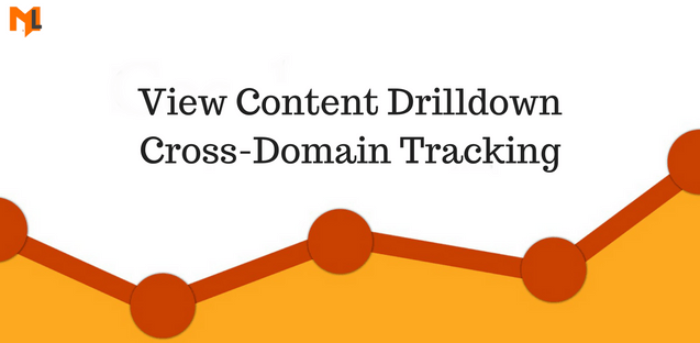 How to View Content Drilldown for Cross Domain Tracking in Google Analytics?