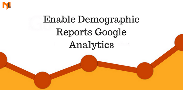 How to enable google analytics demographic reports?