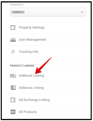 adwords linking analytics