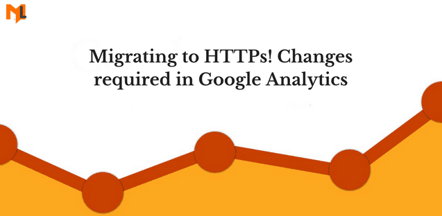 Moving to https changes required in google analytics