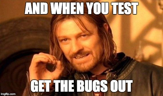 tag manager test & debug