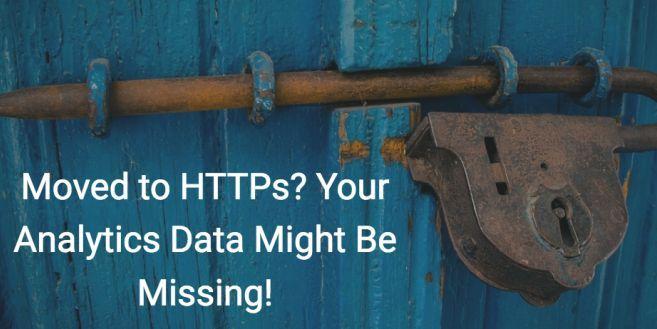Going http to https? Be sure Google Analytics tracks referrals