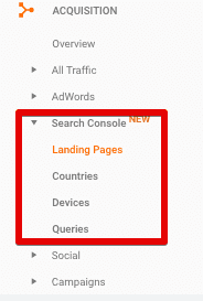 view search console reports