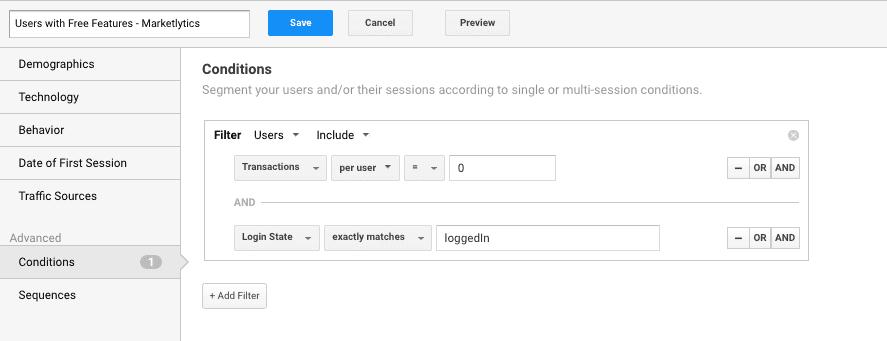 unpaid users segment