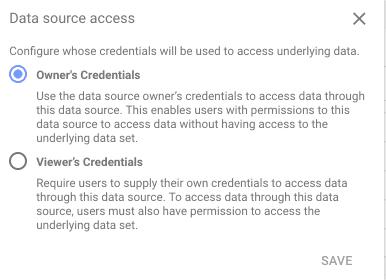 data source access