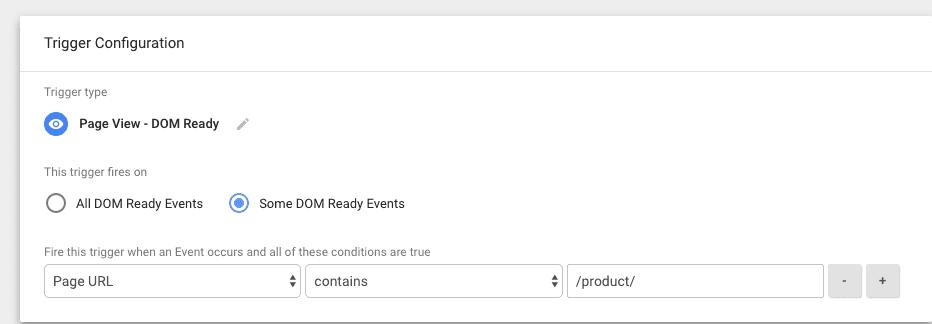 facebook event trigger