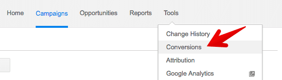 view conversion in adwords
