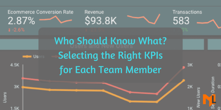 Who should know what? Selecting the Right KPIs for Stakeholders