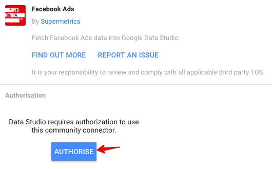 authorize data connectors