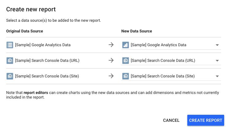 add data studio sources
