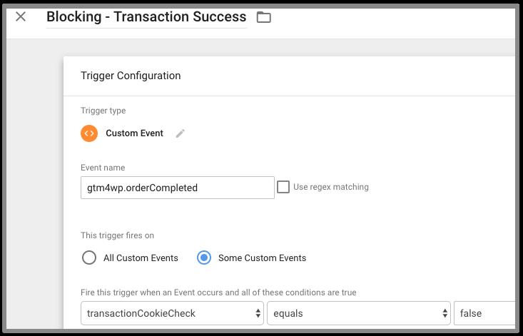 transaction blocking trigger