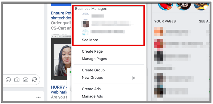 open facebook business manager