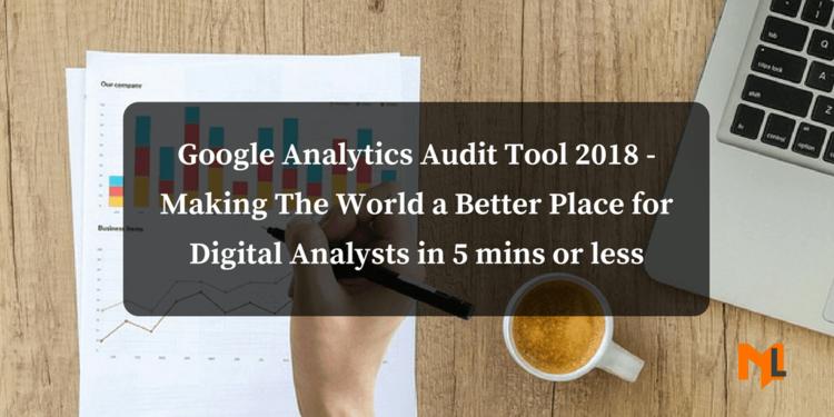 Free Google Analytics Audit Tool 2018