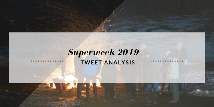 Superweek 2019 Tweet Analysis