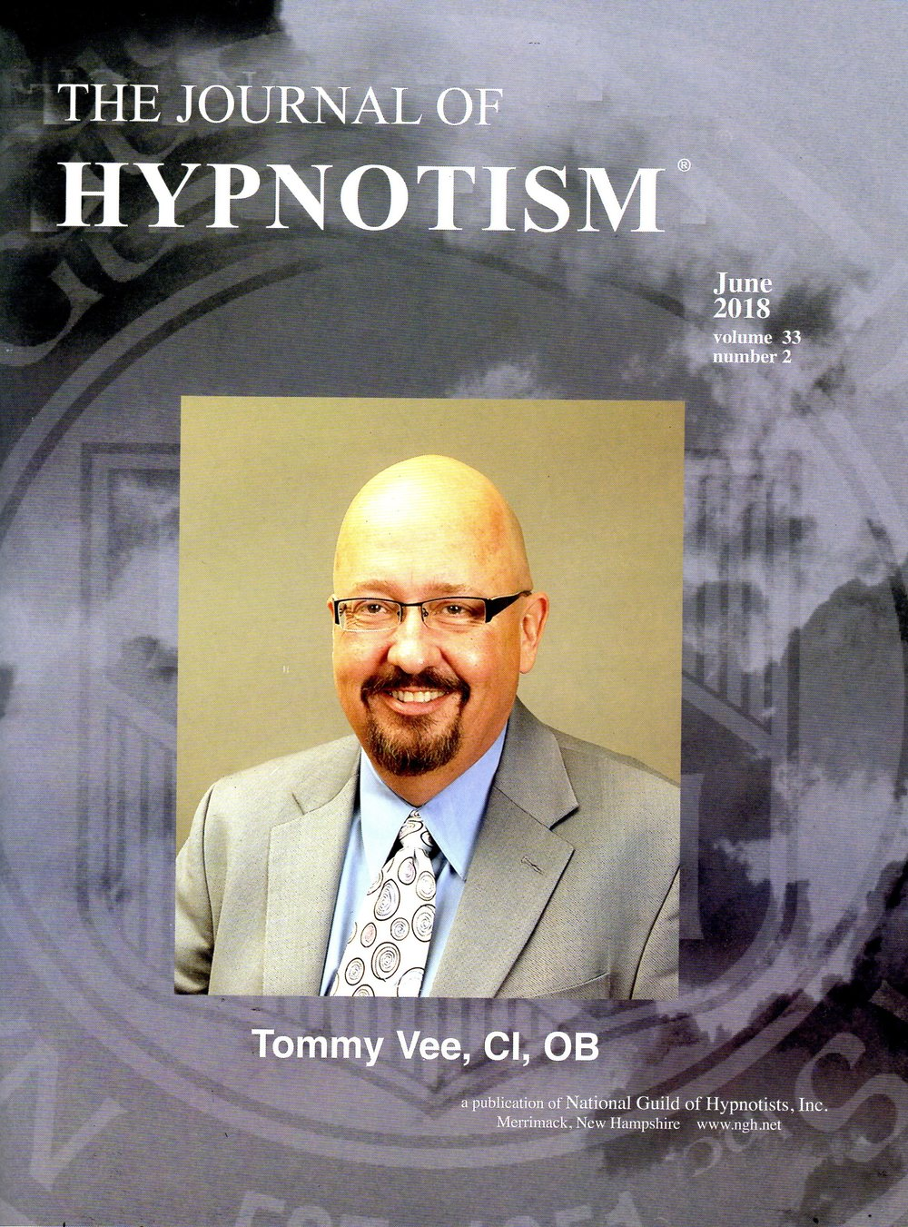 As read about in the National Guild of Hypnotists'