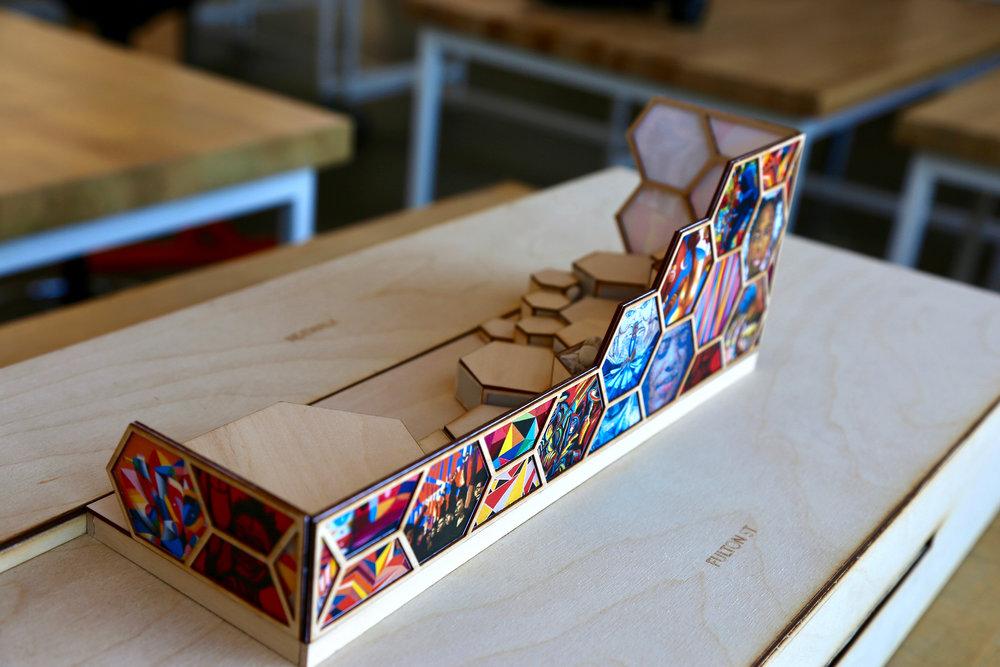 parklet arch model