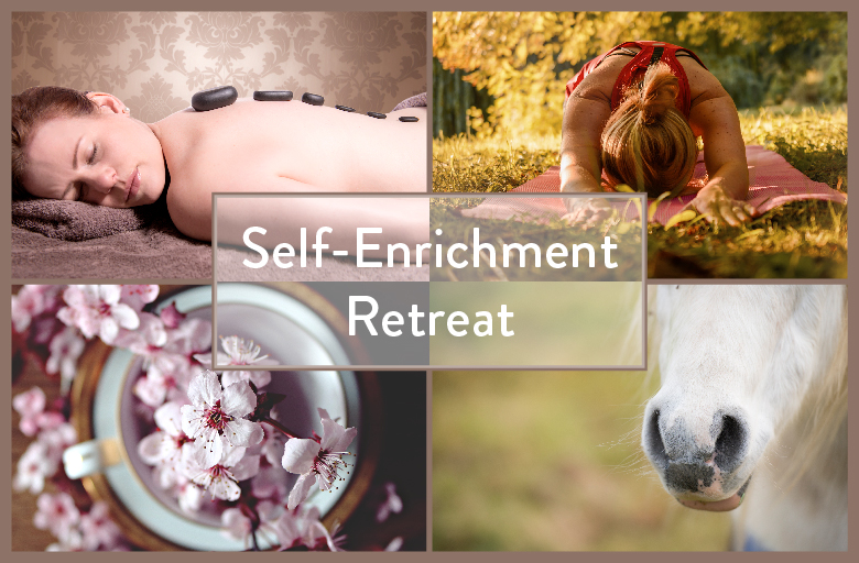Self-Enrichment Retreat - Are you feeling stressed, anxious or depressed?  Do you wish for some time out and for life to slow down?  Are you depleted and lacking in energy? Do you wish to escape and get away from it all?  Are you lacking direction in your life?