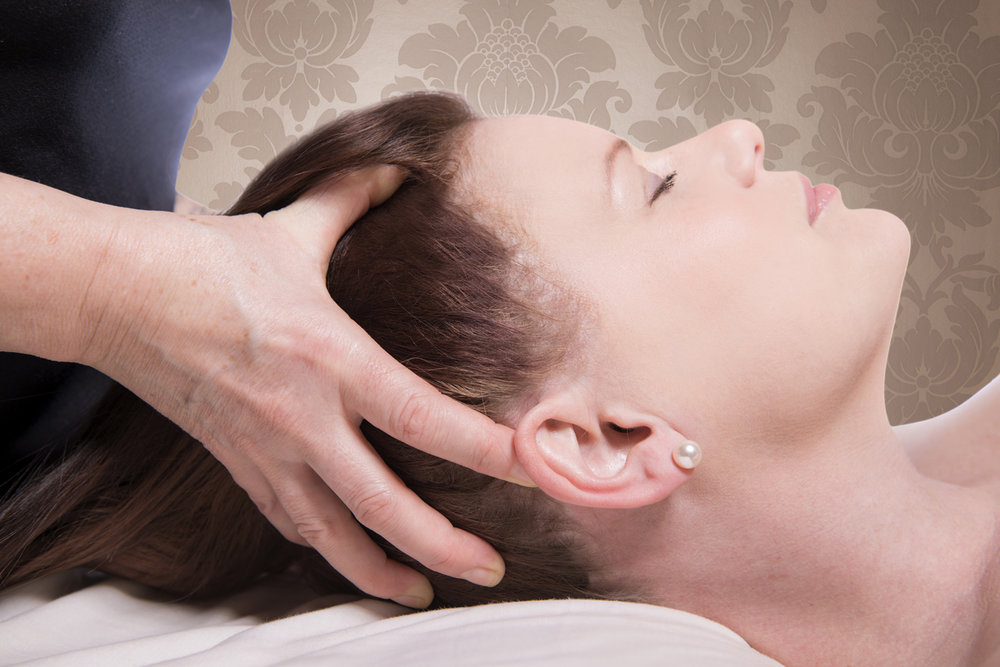 Indian Head Massage - An ancient therapeutic treatment which massages acupressure points on your head, face, neck and shoulders