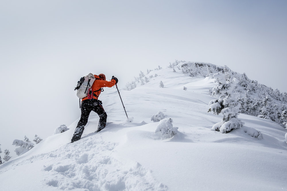 """Gothics, Last Push to the Summit"" - High Peaks Wilderness, Adirondack State Park, New York."