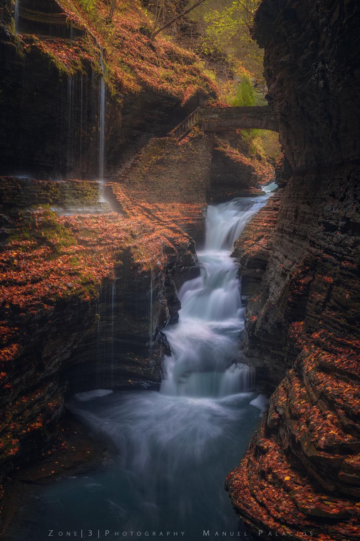 Falling for Rainbow Falls, New York.