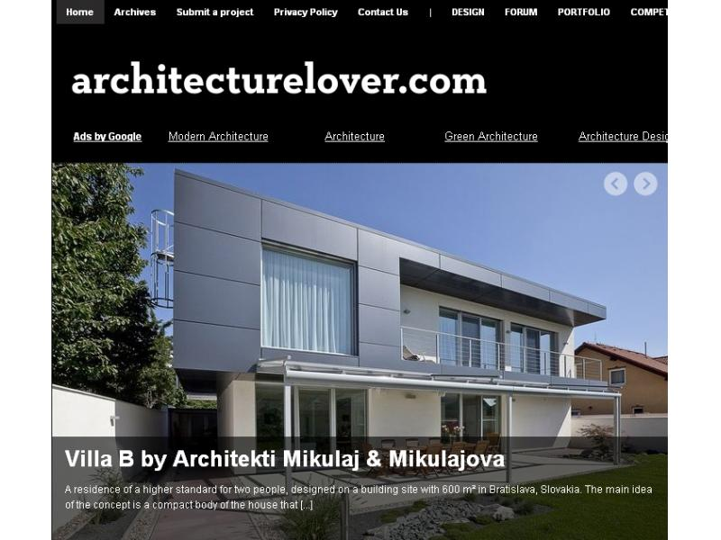 Architecturelover.com 07/2012