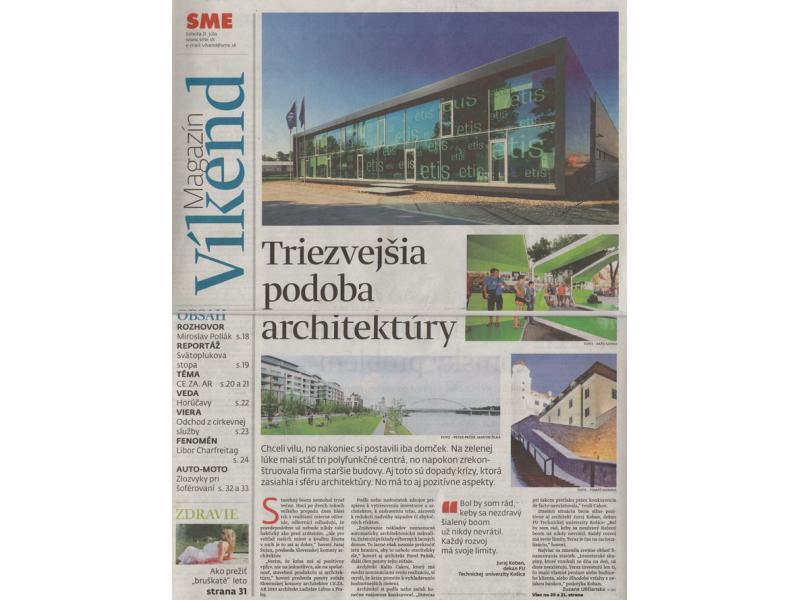 SME - Magazín víkend 31/7/2010