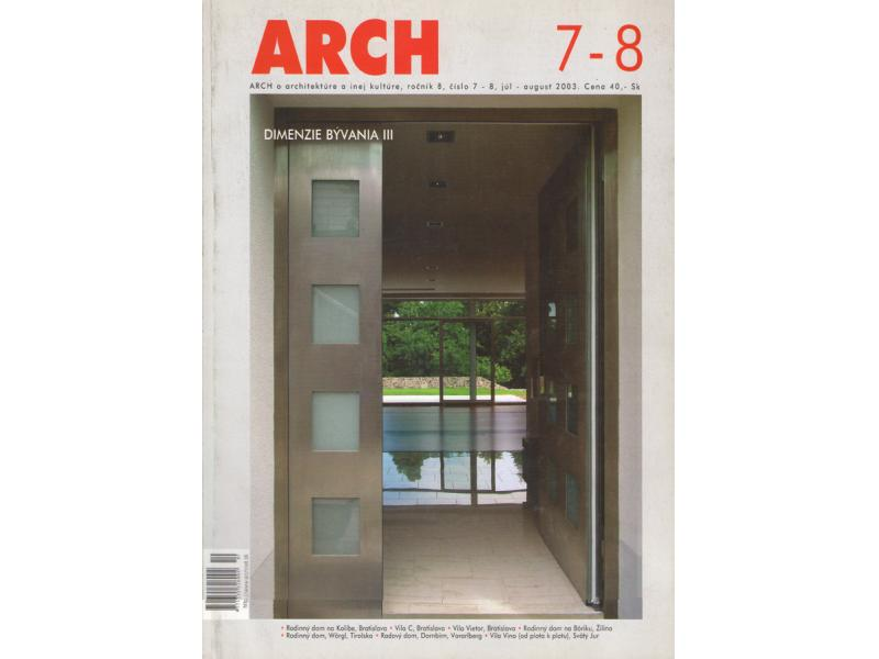 ARCH 7-8/2003
