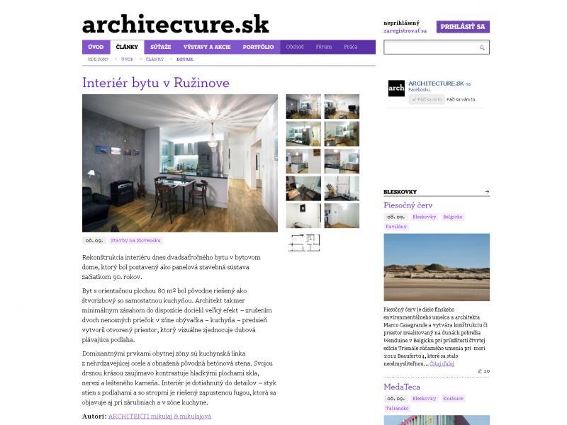 Architecture.sk 09/2012