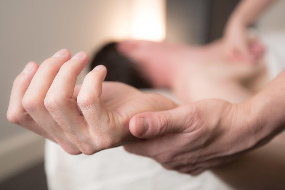 Restorative Massage Hand Massage SD