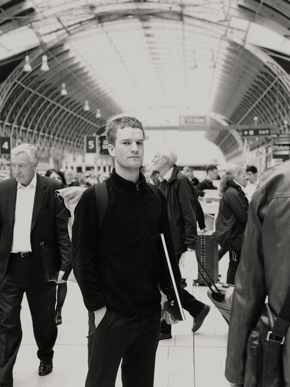 Calum Heath - Paddington Station, London,3rd May 2018