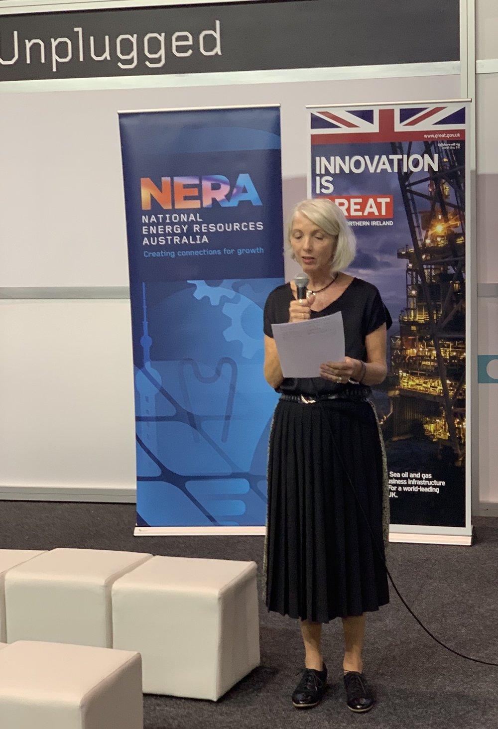 Miranda Taylor, CEO, NERA
