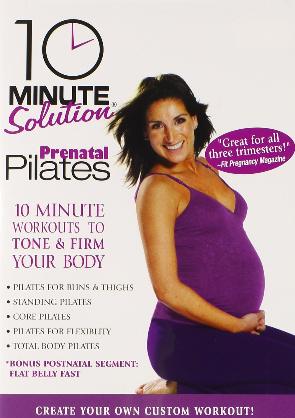 A great pregnancy workout! Lizbeth Garcia in 10 Minute Solutions: Prenatal Pilates