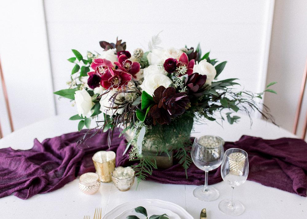 Roses + Mint -