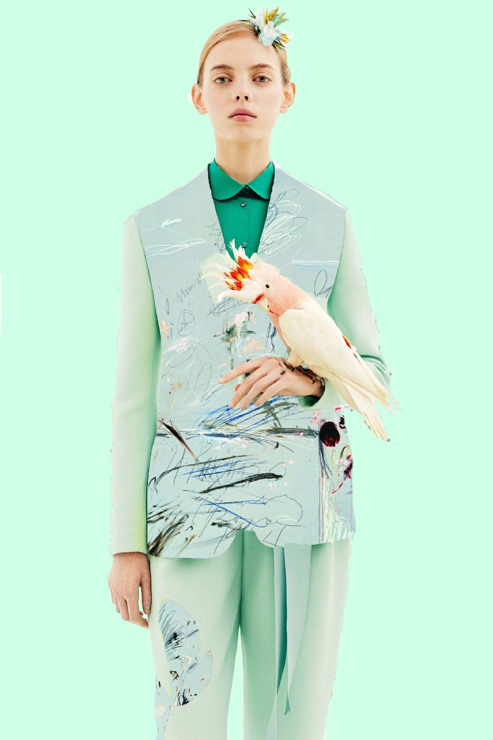 DELPOZO PRE-FALL '18 & CY TWOMBLY