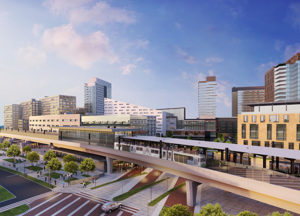 Lechmere Station Rendering