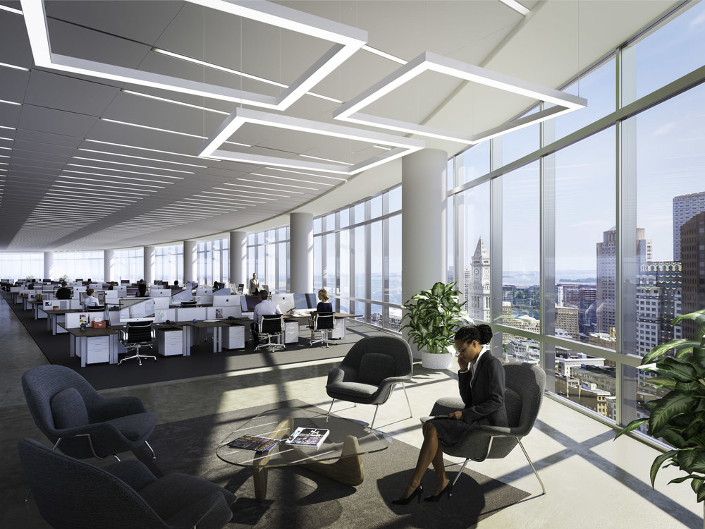 Interior Office Rendering