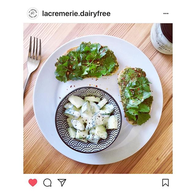Lovely pic from @lacremerie.dairyfree of KALE, CHILLI & LIME on toast. Thanks for sharing ✌🏽💚