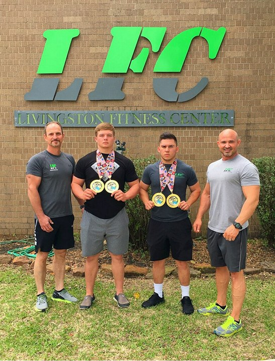 Congrats to our members Dakota Piper and B.J. Mottu on behalf of Livingston Fitness Center for setting new state and world records at the WABDL Nationals! We wish you both the best of luck at the WORLD competition in Las Vegas in November!