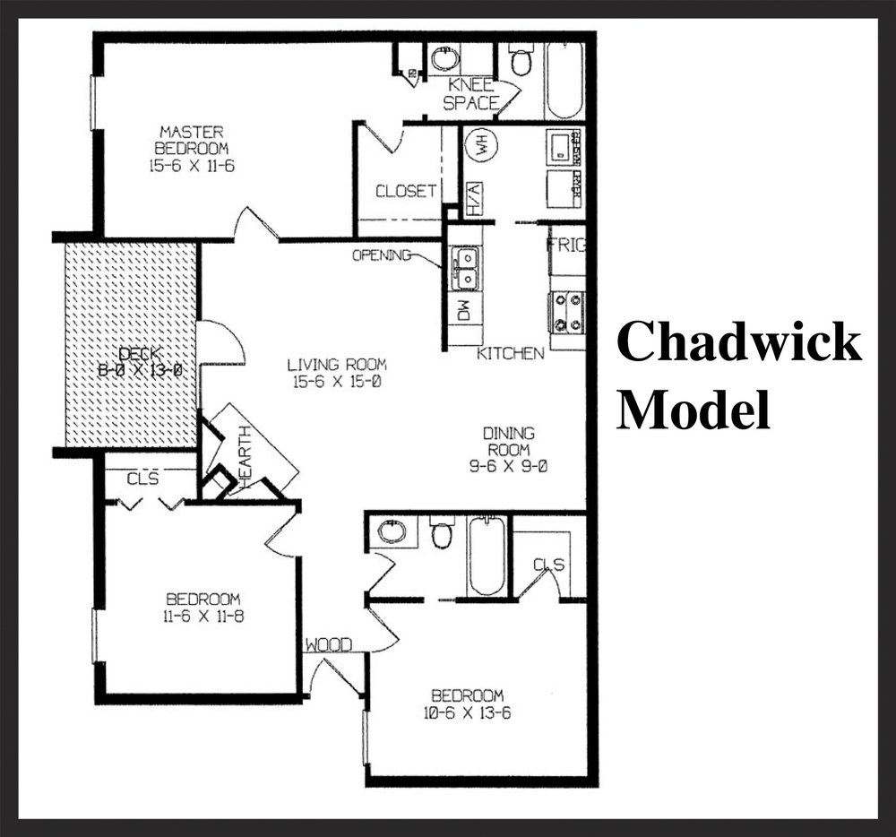 Fox Lake Apartment Homes - Chadwick Floorplan