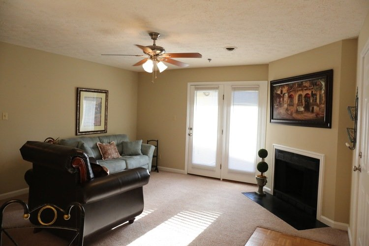 Abbington Apartment Living Room