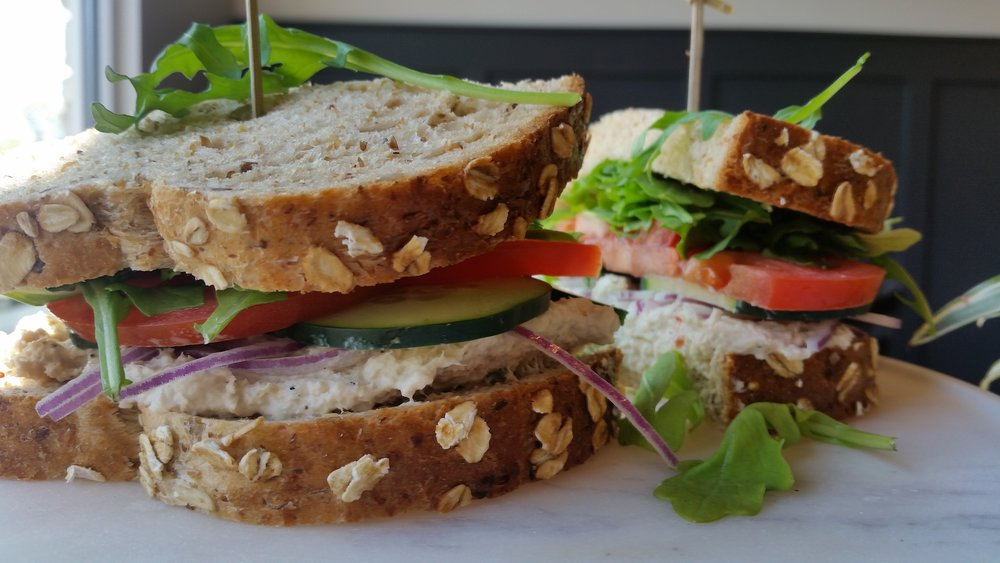 Tuna salad sandwich everyday!