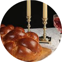 Challah, Wine, and Candles
