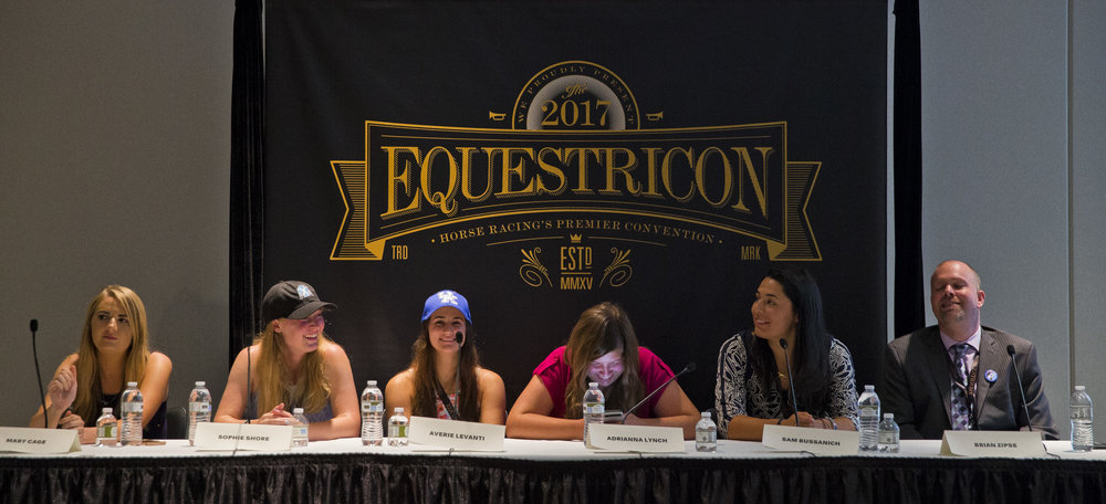 Young Racing Photographers Panel, Equestricon 2017. Photo Credit Eclipse Sportswire.