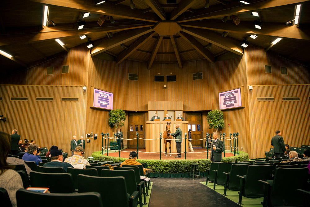 Keeneland Sales Pavillion