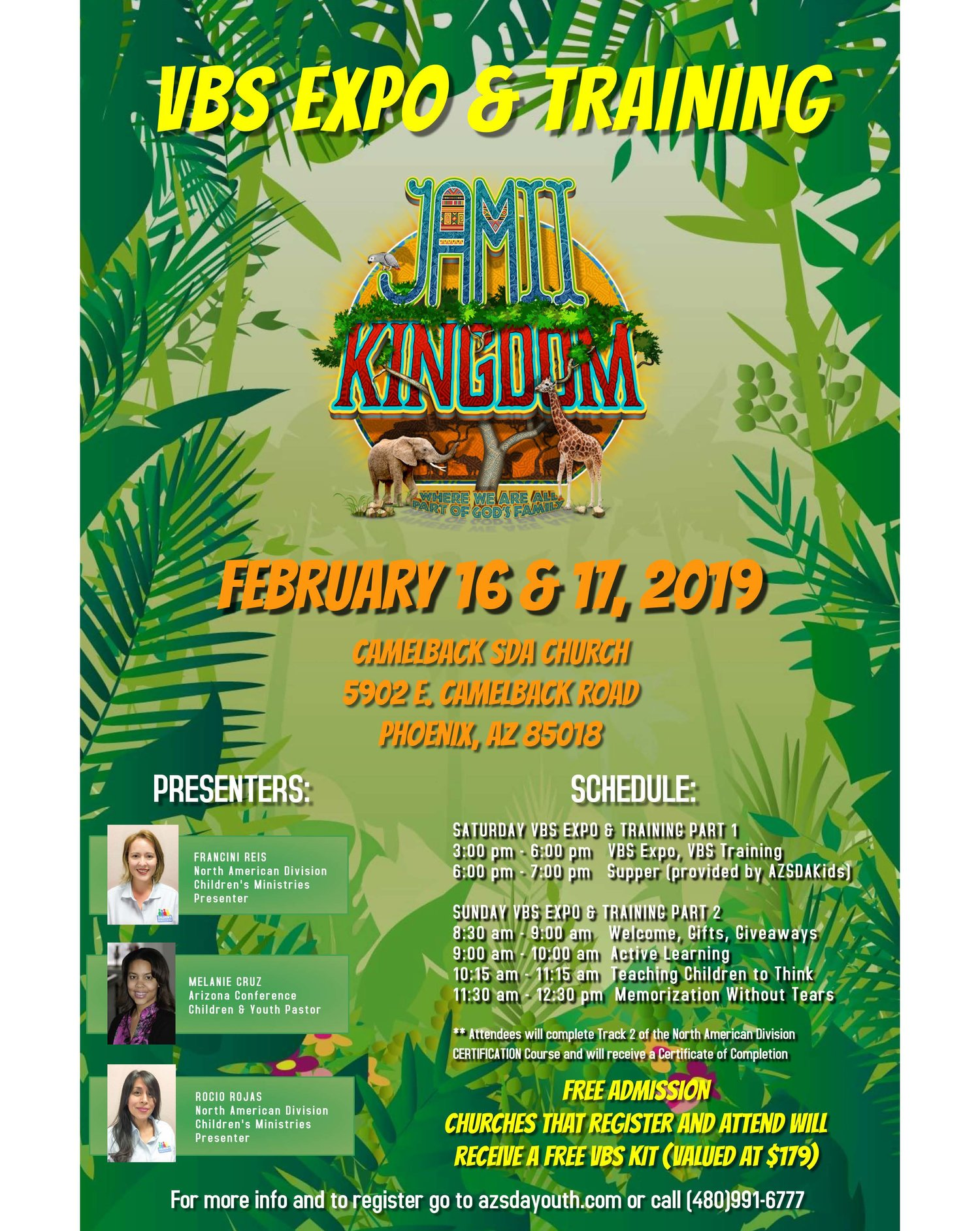 AZ Conference VBS Expo & Training — CHILDREN'S MINISTRIES