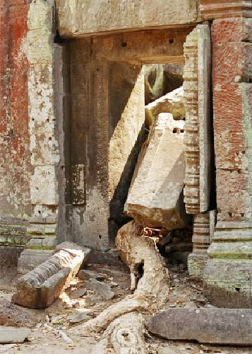 """Doors of Angkor"", Lehka Singh"