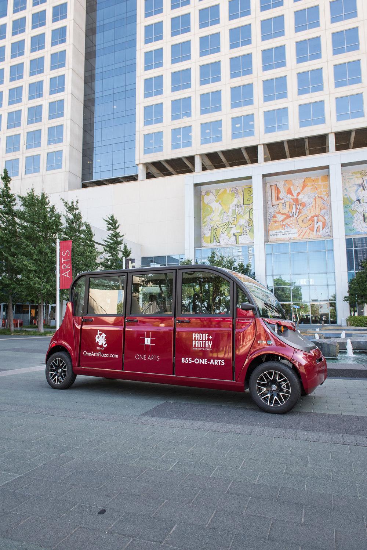 One Arts Cart Shuttle