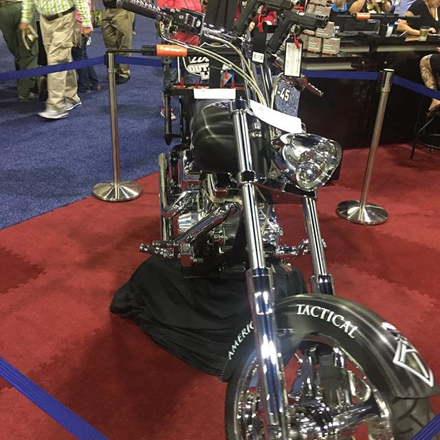 Cool bike at the NRA show!