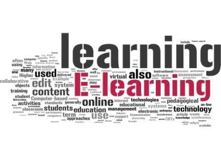 eLearning programs with visual and audio